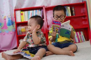 Children who grow up in reading households usually become readers themselves.