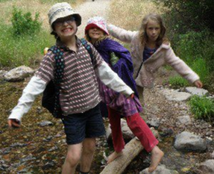Some very real (non-super-)homeschoolers learning in nature and celebrating their own, quirky selves.